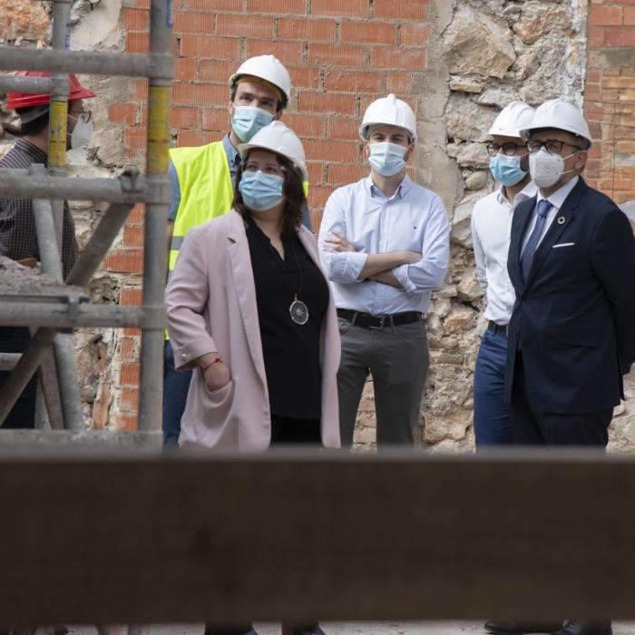 La Real Fábrica de l'Alcora comienza a resurgir con una inversión de 50.000 euros de la Diputación para abrir los históricos hornos redondos