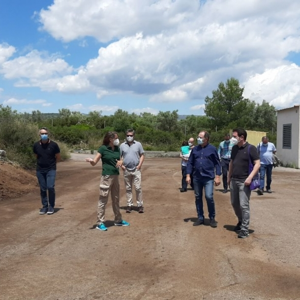La planta de purins de la Salzadella tracta més de 3.000 tones d'alpetxí i residu agrícola en tres mesos