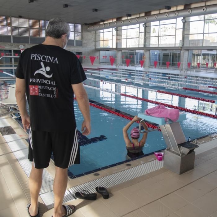 La Diputació de Castelló reobri les instal·lacions de la Piscina Provincial amb totes les garanties d'higiene i seguretat per a usuaris i treballadors