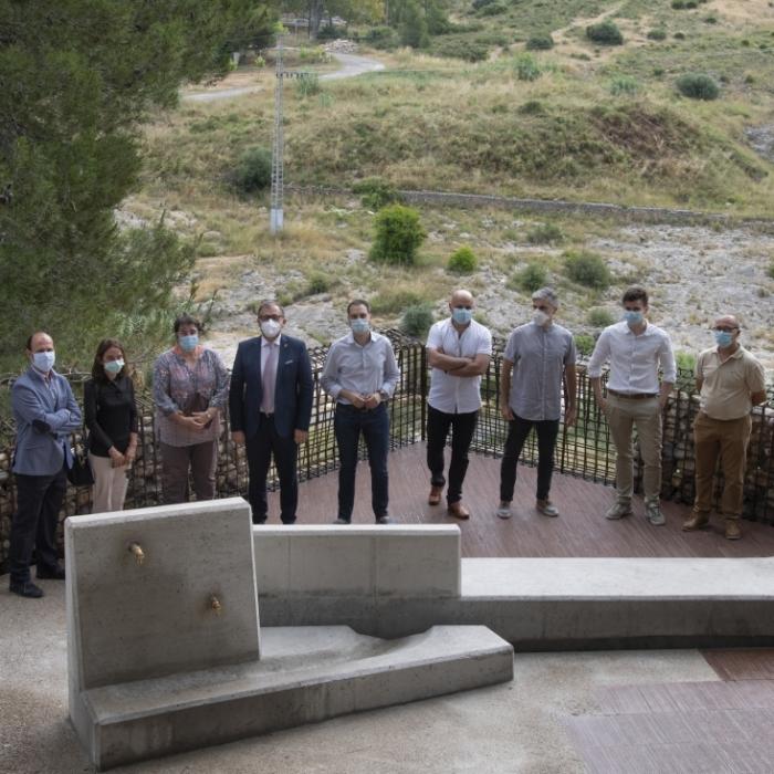 El taulell de Castelló, protagonista de les últimes obres del pla ceràmic de la Diputació a Peníscola i les Coves