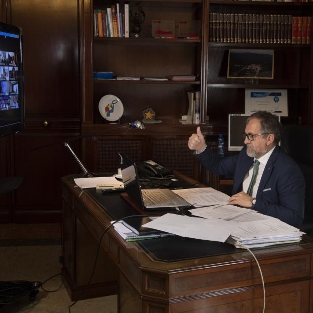El ple de la Diputació aprova per unanimitat el Pla Reactiva enfront de la Covid-19 dotat amb més de 9 milions d'euros