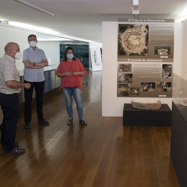 La Diputació apropa la història més primitiva de Castelló a través de l'arqueologia