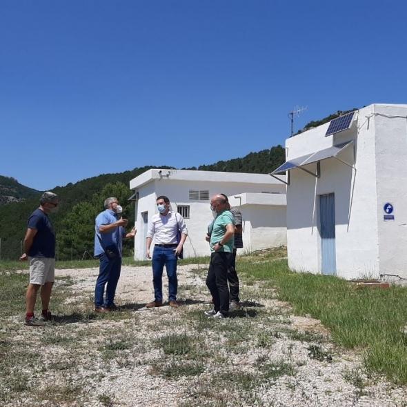 La Diputació projecta un depòsit d'aigua de 1.000 m³ per assegurar l'abastiment a Xodos