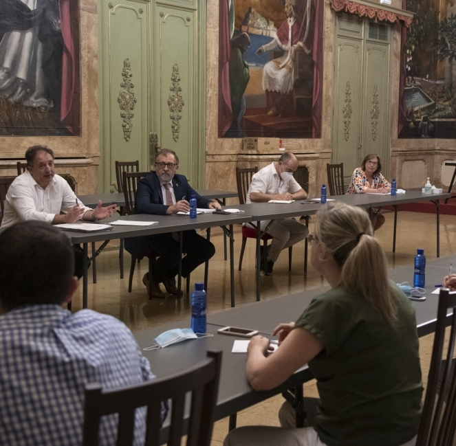 La Diputació de Castelló aprova el pla d'incorporació dels empleats públics amb quatre dies presencials i un de teletreball