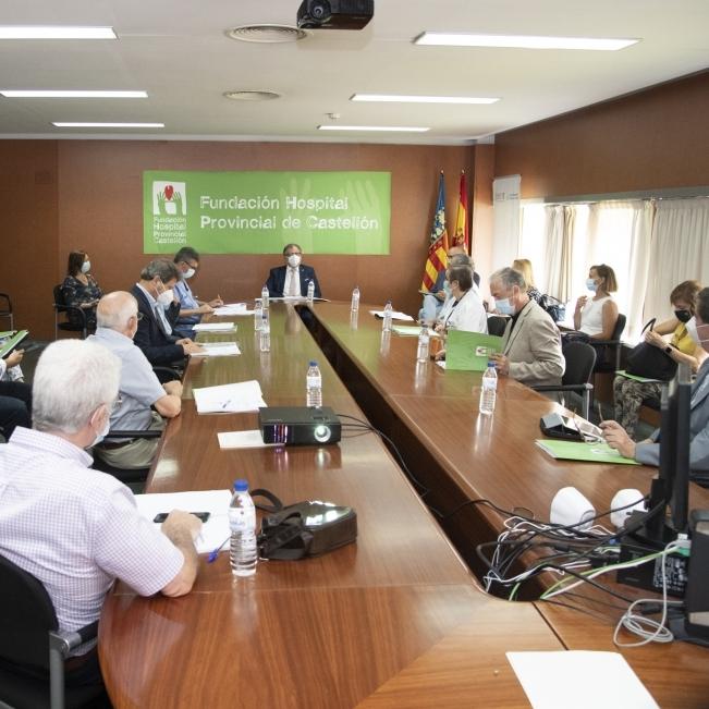 José Martí avala el Plan Estratégico 2020-2023 de la Fundación Hospital Provincial de Castellón para impulsar un nuevo instituto de investigación y formación biomédica
