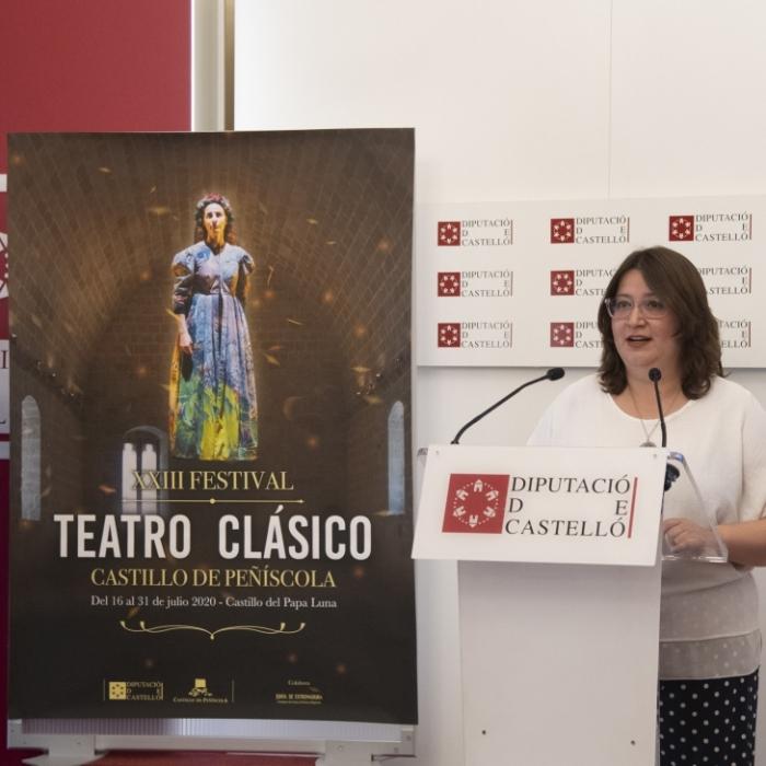 Peníscola es prepara per a gaudir d'una nova edició del Festival de Teatre Clàssic amb huit representacions a partir del 16 de juliol