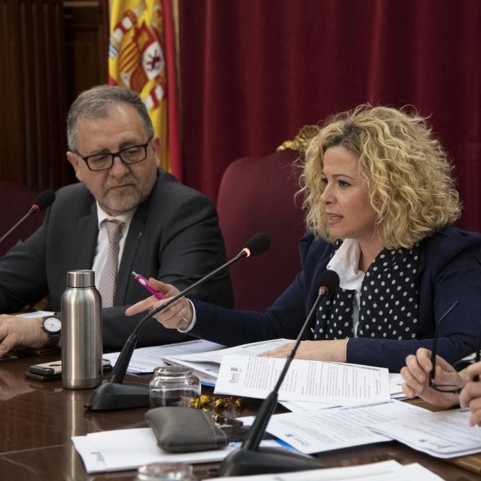 Virginia Martí destaca la modernització del Patronat de Turisme i el Pla de Xoc per a pal·liar els efectes de la Covid-19 en el primer any de la Nova Diputació