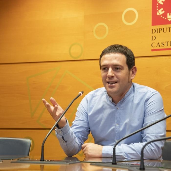 Garcia asienta las bases en la Diputación Provincial para la transición ecológica de las comarcas de Castelló
