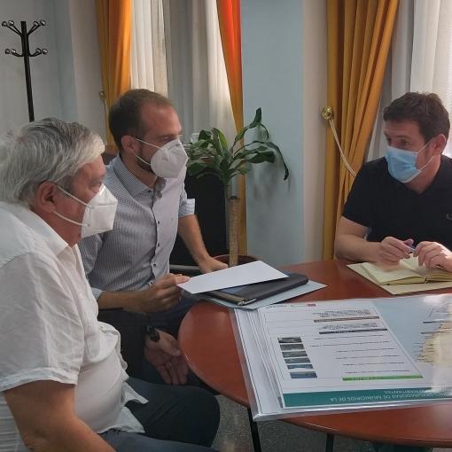 La Diputació busca soluciones para tratar las aguas residuales de El Tormo