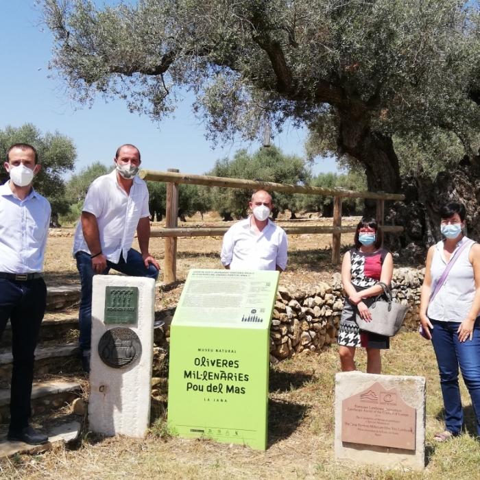 Les diputacions de Castelló, Tarragona i Terol s'uneixen per a posar en valor el patrimoni agrícola i arquitectònic del Sénia