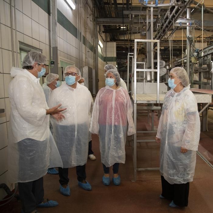 Els escorxadors de la Diputació garanteixen els estàndards de qualitat de la producció càrnia de la província