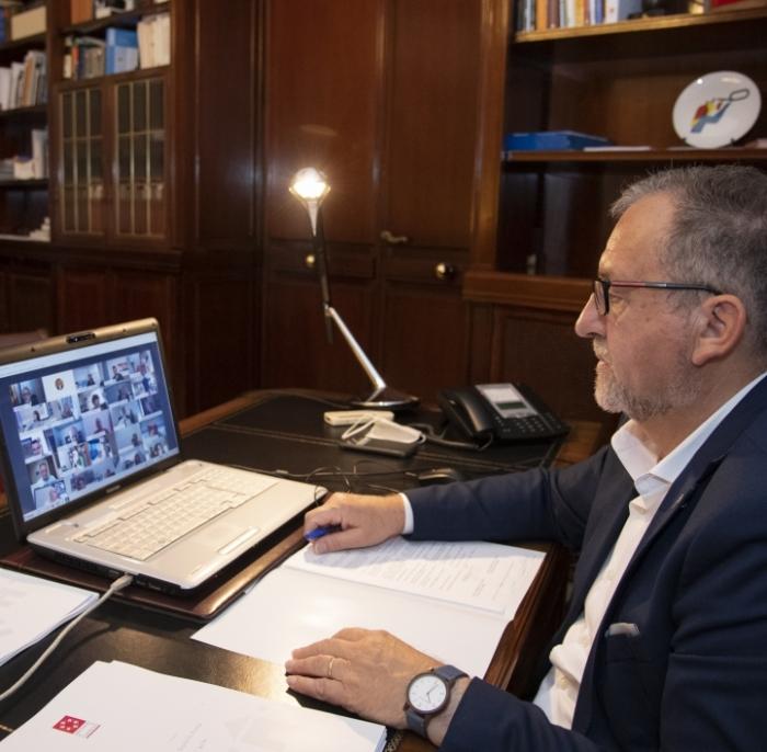 José Martí recolza l'esforç del president Puig per a revertir la situació creada amb la quarantena decretada pel govern britànic