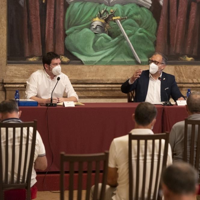 L'equip de govern de la Diputació de Castelló presenta el Pla Director de l'Aigua a l'oposició