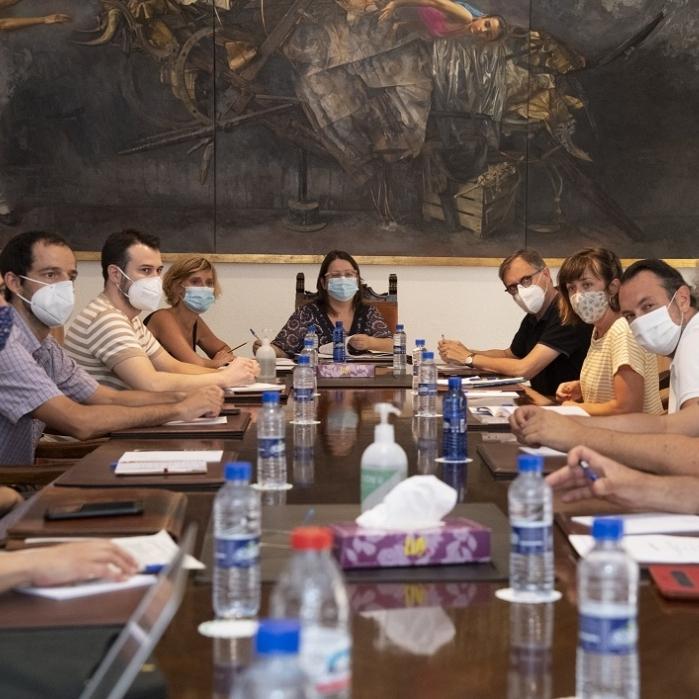 La Diputació aposta per la creació d'un potent circuit cultural provincial en col·laboració amb els professionals de les arts escèniques