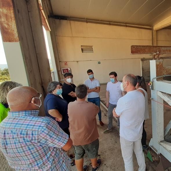 La Diputación valora realizar nuevas inversiones en la planta de tratamiento de purines de la Todolella
