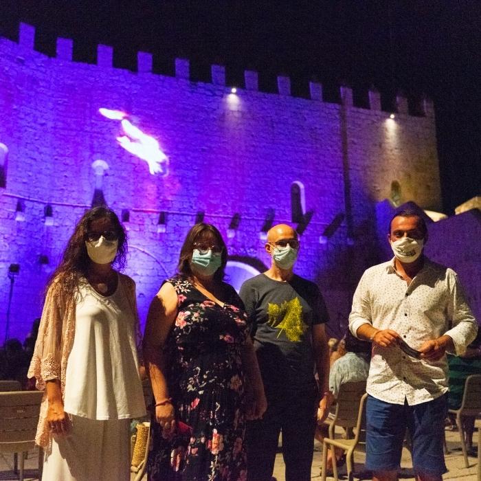 Ruth Sanz destaca el ple total de les huit jornades del XIII Festival de Teatre Clàssic de Peníscola