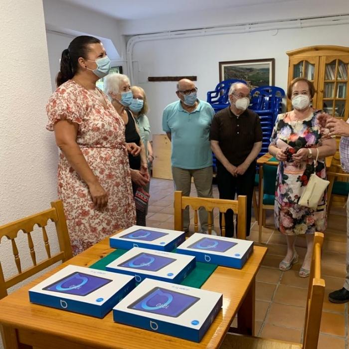 """Patricia Puerta destaca la apuesta de la Diputación por reforzar los servicios públicos para """"mejorar la calidad de vida de la gente mayor de nuestros pueblos"""""""