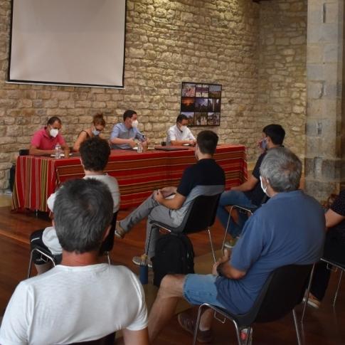 Ignasi Garcia reúne a los municipios del Norte de Castelló para avanzar en la recogida de residuos urbanos
