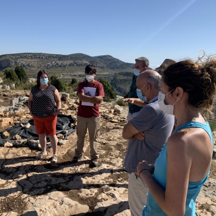 La Diputació impulsa una campanya d'excavacions al Tossal de la Vila per a investigar la que seria primera mesquita de caràcter rural de la província de Castelló