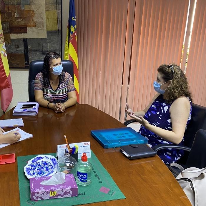Patricia Puerta recolza la constitució d'una associació a Castelló sobre el Trastorn de l'Espectre Alcohòlic Fetal