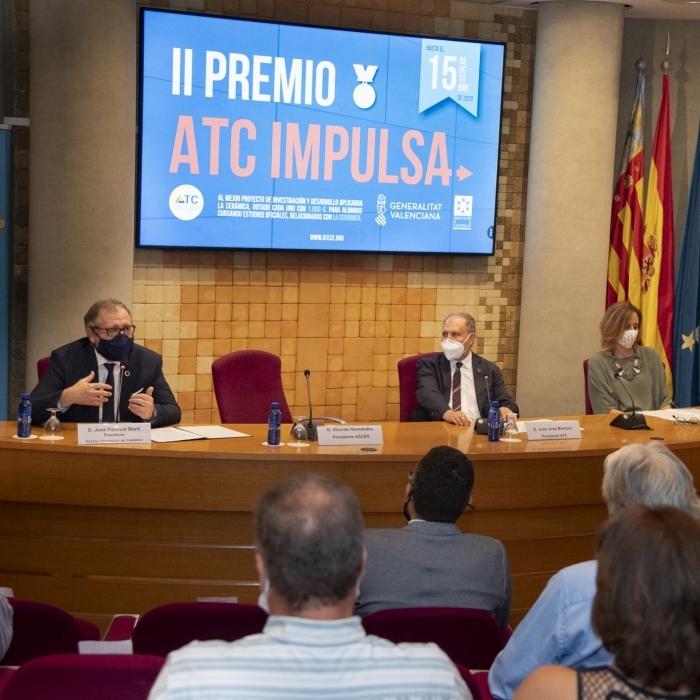 La Diputació de Castelló aposta per la innovació en el camp ceràmic amb el copatrocini dels premis 'ATC Impulsa'