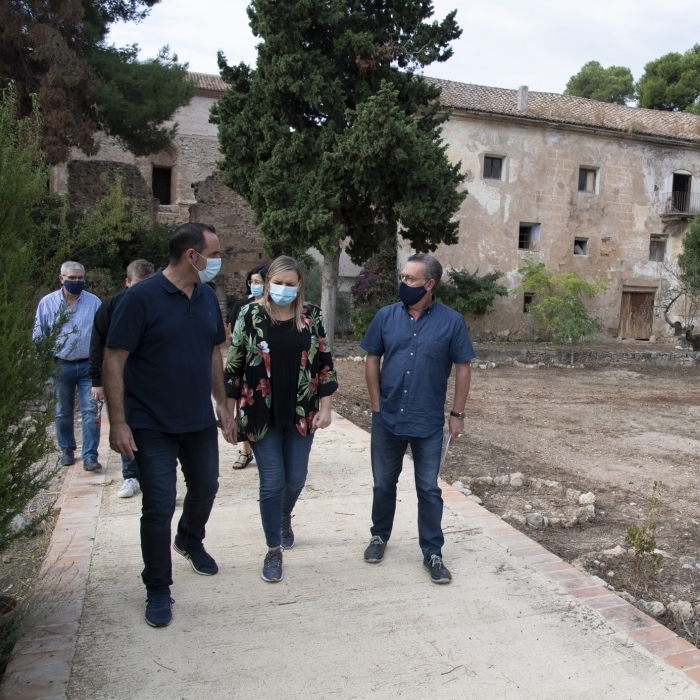 La Diputació escomet la neteja i el manteniment de la Cartoixa de Valldecrist a Altura per a incrementar el seu potencial turístic