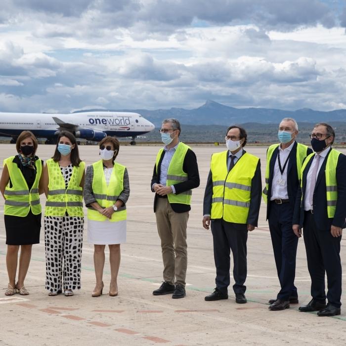 """José Martí hace una valoración """"muy positiva"""" del nuevo equipo directivo del aeropuerto y destaca la gran labor realizada por Serafí Bernat"""