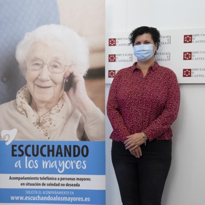 La Diputació col·labora en la posada en marxa del nou servei d'acompanyament telefònic per a persones majors del Teléfono de la Esperanza