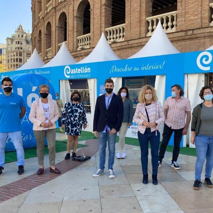 El Patronato Provincial de Turismo realiza una street marketing junto a la Estación del Norte de València