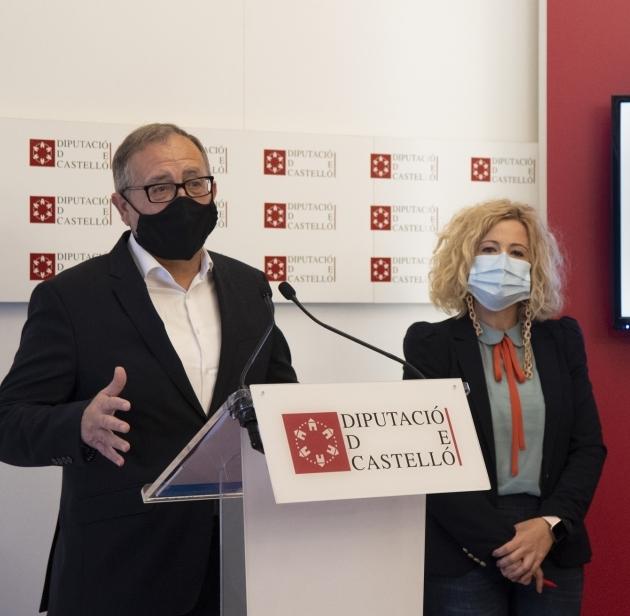 La Diputación de Castellón se adhiere al Fondo de Cooperación Municipal para Municipios Turísticos de la Generalitat, aportando 1,25 millones de euros