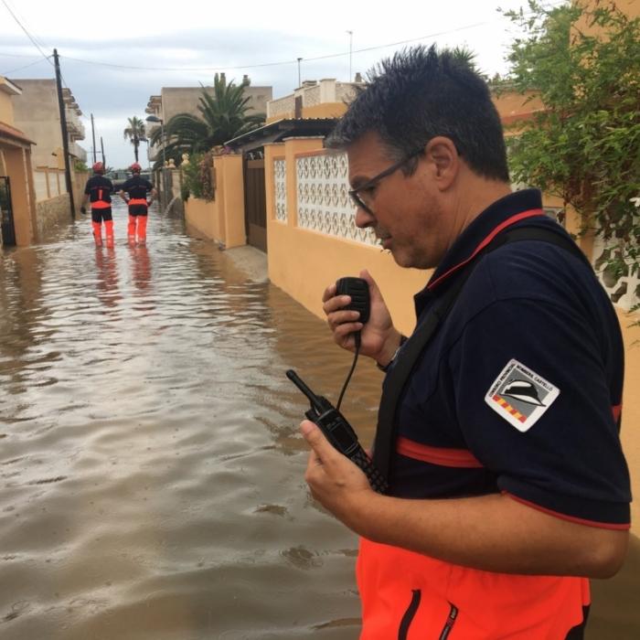 El Consorcio Provincial de Bomberos de Castellón (CPBC), preparado para activar de forma inmediata todos los recursos necesarios ante el temporal de lluvia y mar previsto para los próximos días