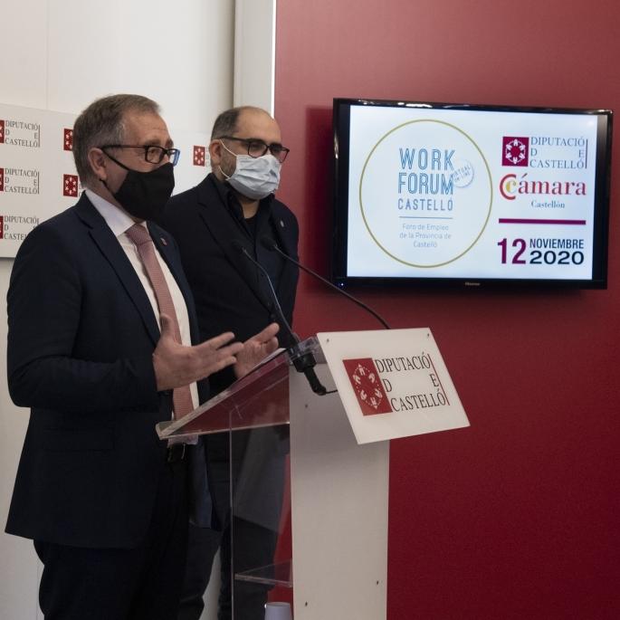 El primero Workfòrum virtual se adapta al contexto de pandemia para promover el empleo en la provincia