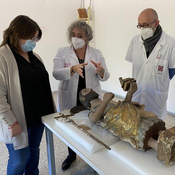 La Diputació referma la seua aposta per la recuperació del santuari del Penyagolosa i restaurarà la talla romànica de Sant Joan