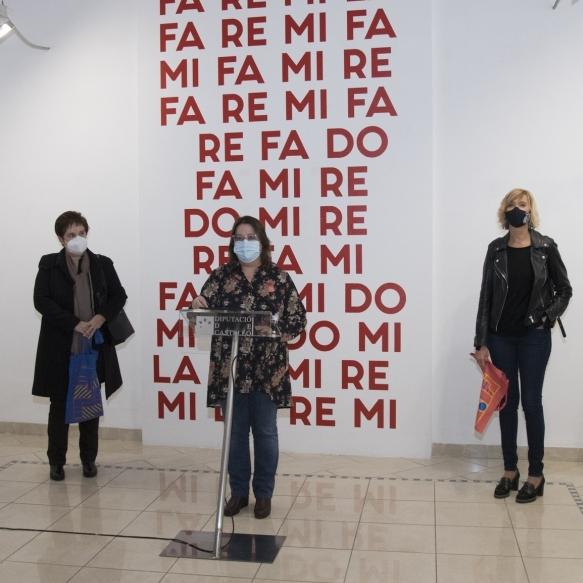 """La Diputació de Castelló celebra el Dia Internacional dels Museus amb la transgressió i la força de l'exposició """"La-Re-Mi-La"""" de Carles Santos"""