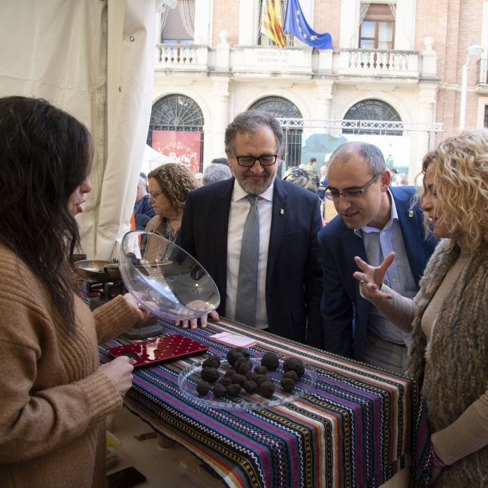 La Fira de Nadal de la Diputació promocionarà el consum de productes 'Castelló Ruta de Sabor' per a aquestes festes