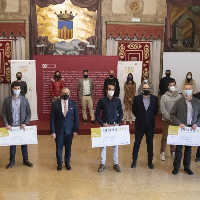 La Diputació acoge la entrega de premios del programa de emprendimiento conjunto con CEEI Castelló