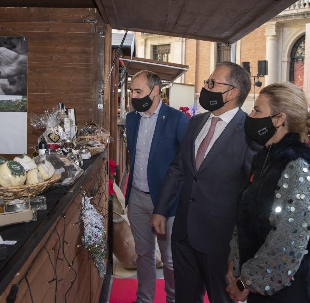 La Diputació plena des de hui les Aules de Castelló de productes gastronòmics locals per a incentivar el seu consum en Nadal