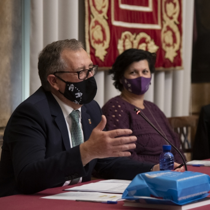 """José Martí pide a los ciudadanos que """"extremen"""" la prudencia y """"restrinjan al máximo"""" su vida social para frenar el aumento de afectados por la Covid-19"""