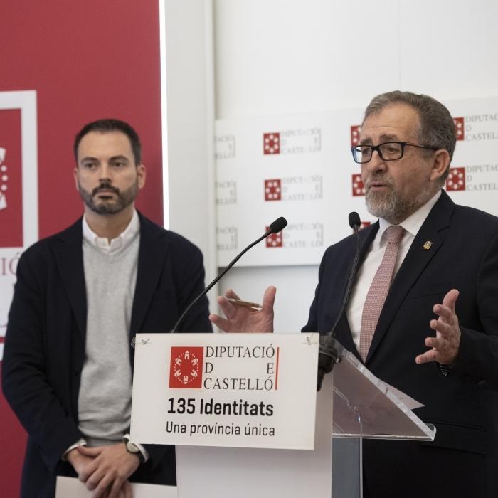 La Diputación aprueba este martes las nuevas bases del Plan 135 que darán mayor poder de decisión a los ayuntamientos de Castellón