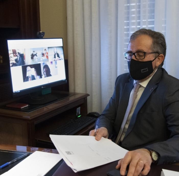 José Martí destaca el suport de la Diputació al pla conjunt de promoció de l'aeroport de Castelló per a rellançar la seua activitat turística i comercial