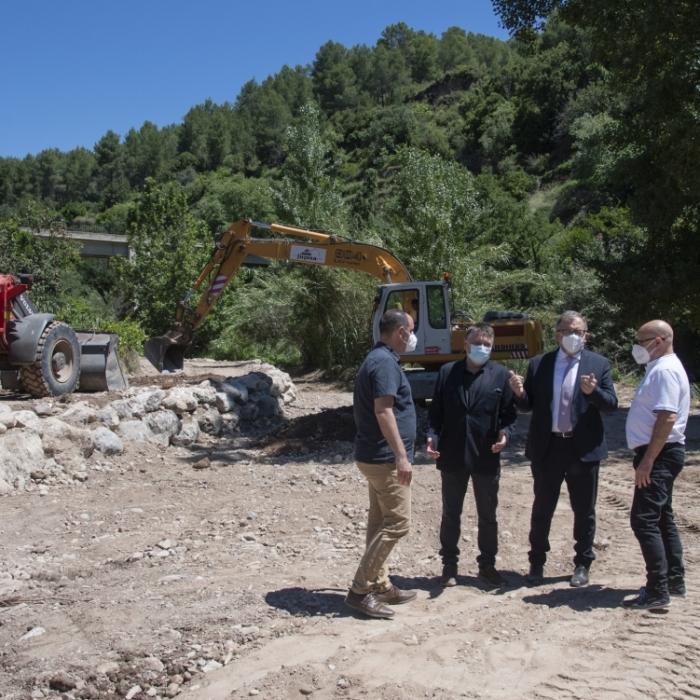 La Diputación de Castellón destinó 900.000 euros en 2020 a acondicionar 4.000 kilómetros de caminos y pistas de 61 municipios de la provincia