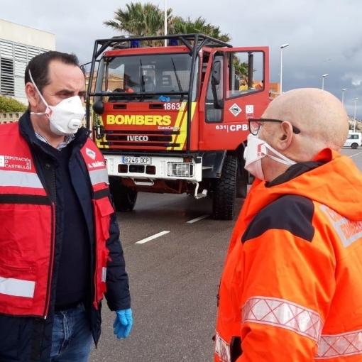 La Diputación pide a la población que mañana viernes extreme las precauciones ante las rachas de viento de 100 Km/h que ocasionará la borrasca Hortense