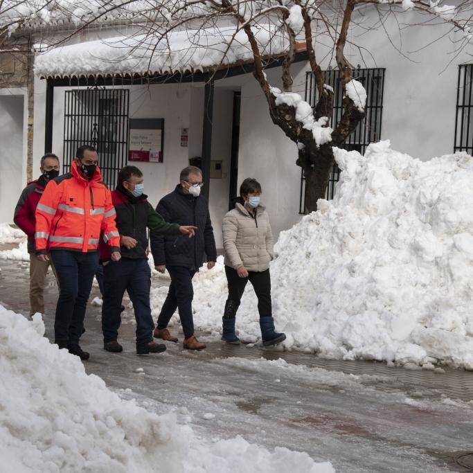 Els bombers de la Diputació han destinat 360.000 euros per a actuar per 'Filomena' en una àrea amb 80 municipis i 40.000 habitants