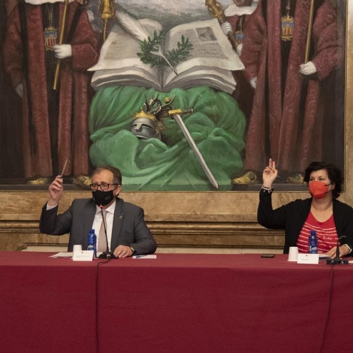 La Diputación aprobará mañana martes en el pleno su adhesión al 'Plan Resistir' para transferir de inmediato a los ayuntamientos su aportación de 4,1 millones de euros