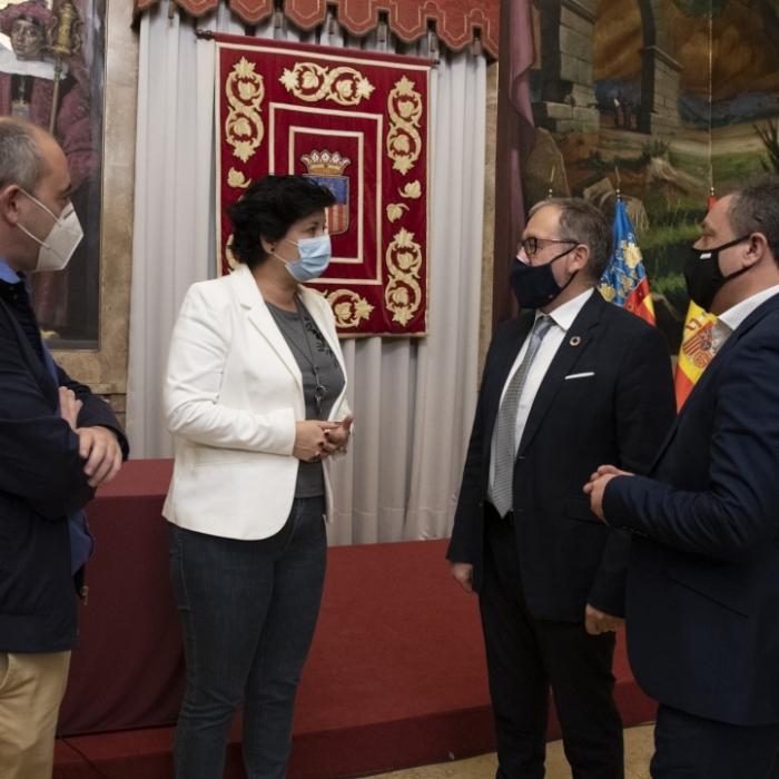 La Diputación efectúa el pago de los 4,2 millones a los municipios para que activen las ayudas del 'Plan Resistir' para autónomos y microempresas