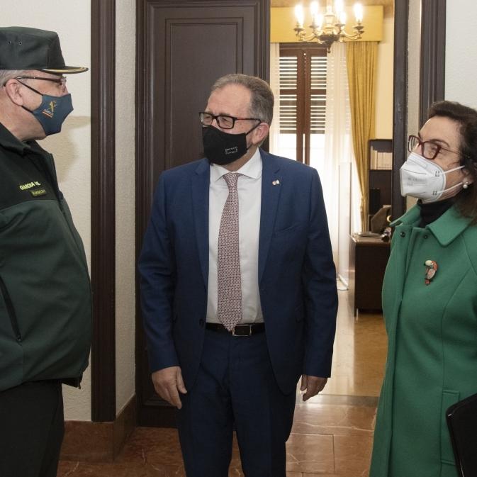 La Diputació i el Ministeri d'Interior subscriuran un conveni bienal de 400.000 euros per a la millora de les casernes de la Guàrdia Civil a la província de Castelló