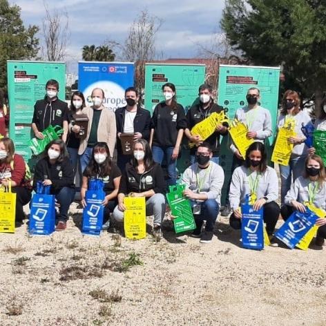 La Diputación activa a las 18 educadoras y educadores ambientales que actuarán a pie de calle en los 115 municipios de menos de 5.000 habitantes de la provincia