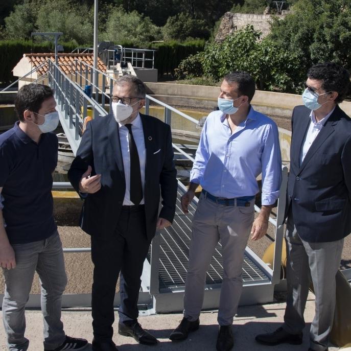 101 pueblos de la provincia se benefician del servicio de depuración de aguas de la Diputación de Castellón