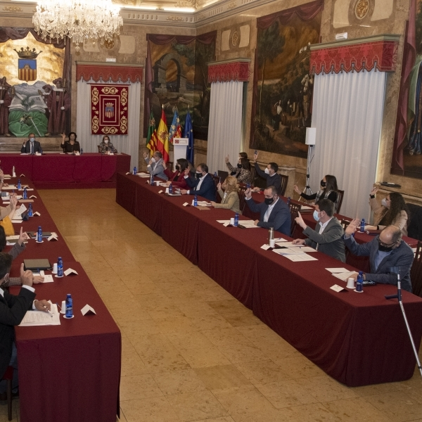 La Diputació sol·licita per unanimitat que el Govern d'Espanya incloga les dessaladores en els fons europeus