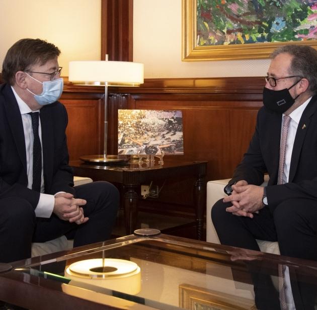 José Martí destaca la importancia del apoyo de Ximo Puig a la creación de un Instituto de Investigación Sanitaria en Castellón orientado a la oncología